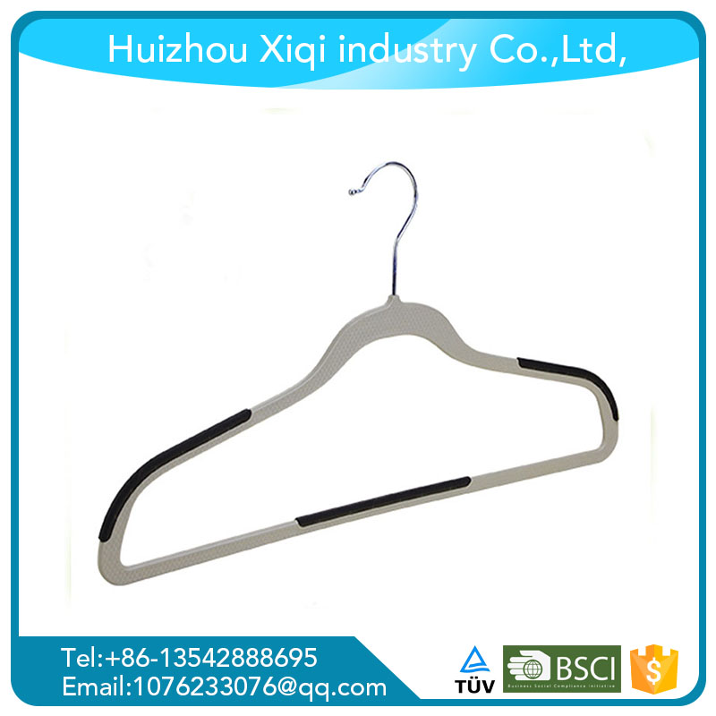 Multifunctional plastic clothes drying hanger