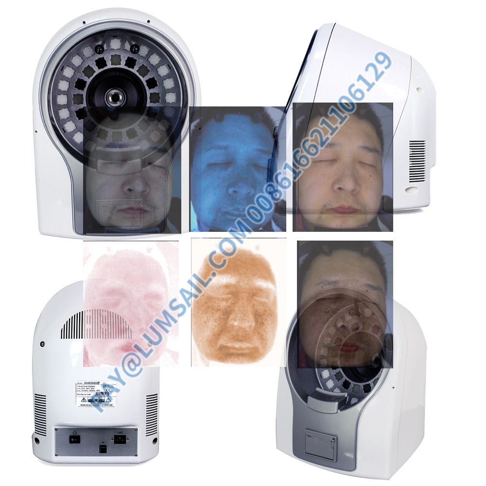 Best quality magic mirror 3d skin analyzer machine facial scanner device