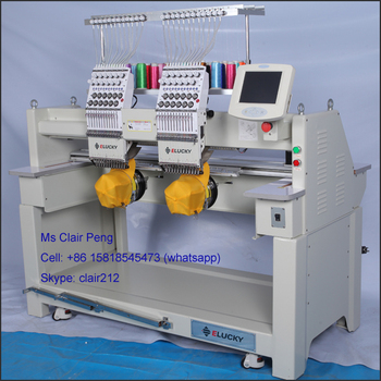Used Embroidery Machines For Sale >> New And Used Industrial Embroidery Machines For Sale Cap T Shirt