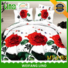 new design 3d printed cotton bed sheet 3d effect bedding set