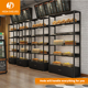 Modern Shopping Mall Bakery Furniture Wood Bread Display Stand For Store
