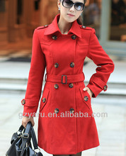 fashion women long coat turkey