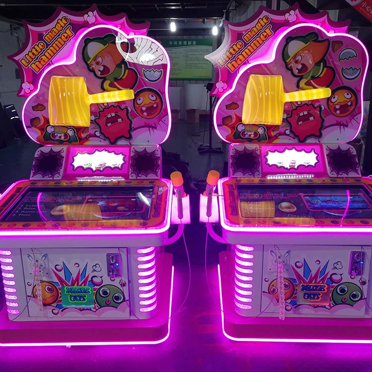 Knocking LED screen maximum tune arcade game machine