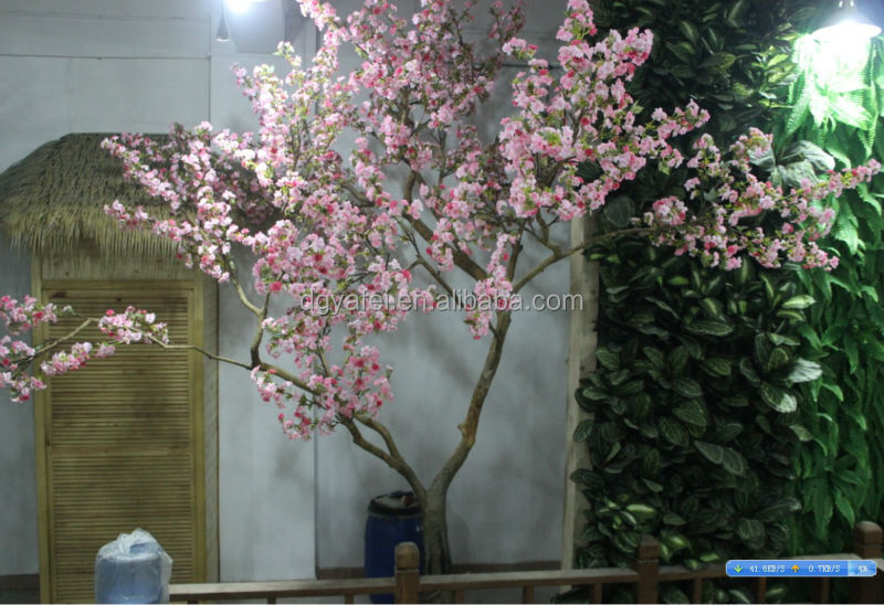 Goede Artificial Red / Pink Cherry Blossom Tree - Buy Artificial Red SL-16