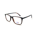 AK9012 High Quality Cheap Spectacle Manufacturers Fashion Optical Glasses CE Men Acetate Eyewear Frames Square Custom Eyeglass