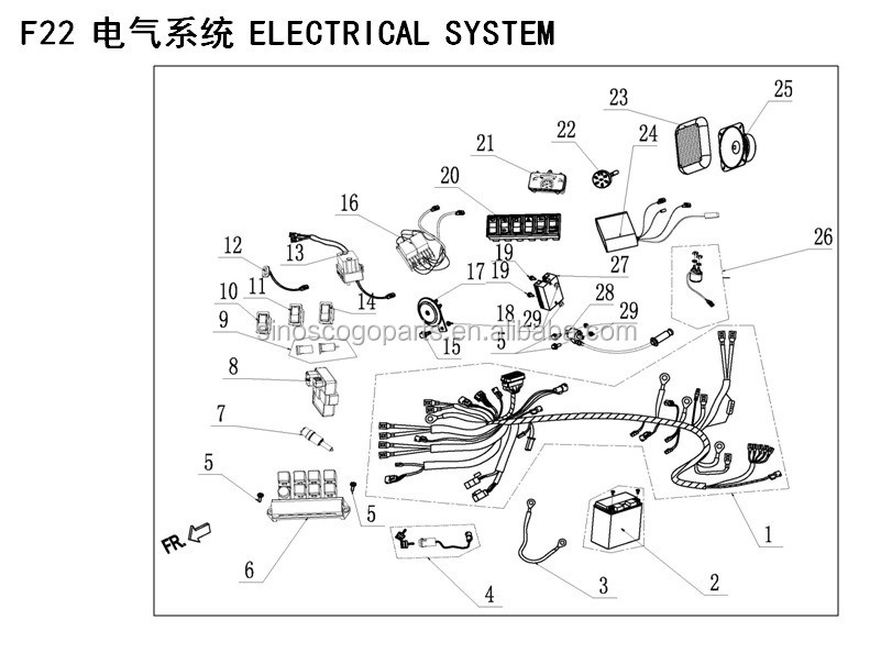 Bmx Utv Parts manual
