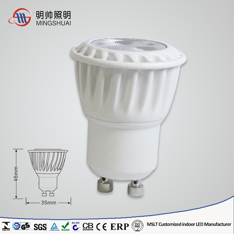 24 degree Dimmable 3W 4W LED MR11 GU10 Manufacturer Wholesale GU10 LED MR11