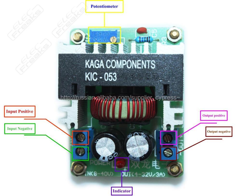 36v 28v 30v 24v 18v 19v To 12v 9v 6v 5v 33 Dc Step Down Converter 8 1 Voltage Regulator Circuit
