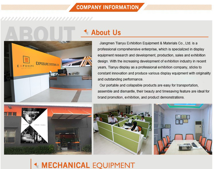 Trading Business Ideas Modular Construction Expo Stand With Exhibition Floor System