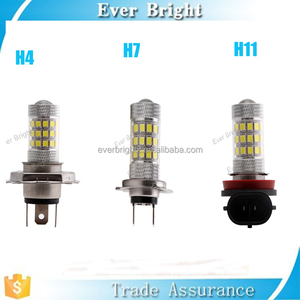 High Power 3528 42smd Fog LED Bulb Car Auto Light Source Projector DRL Driving Fog Lamp Xenon White DC12V