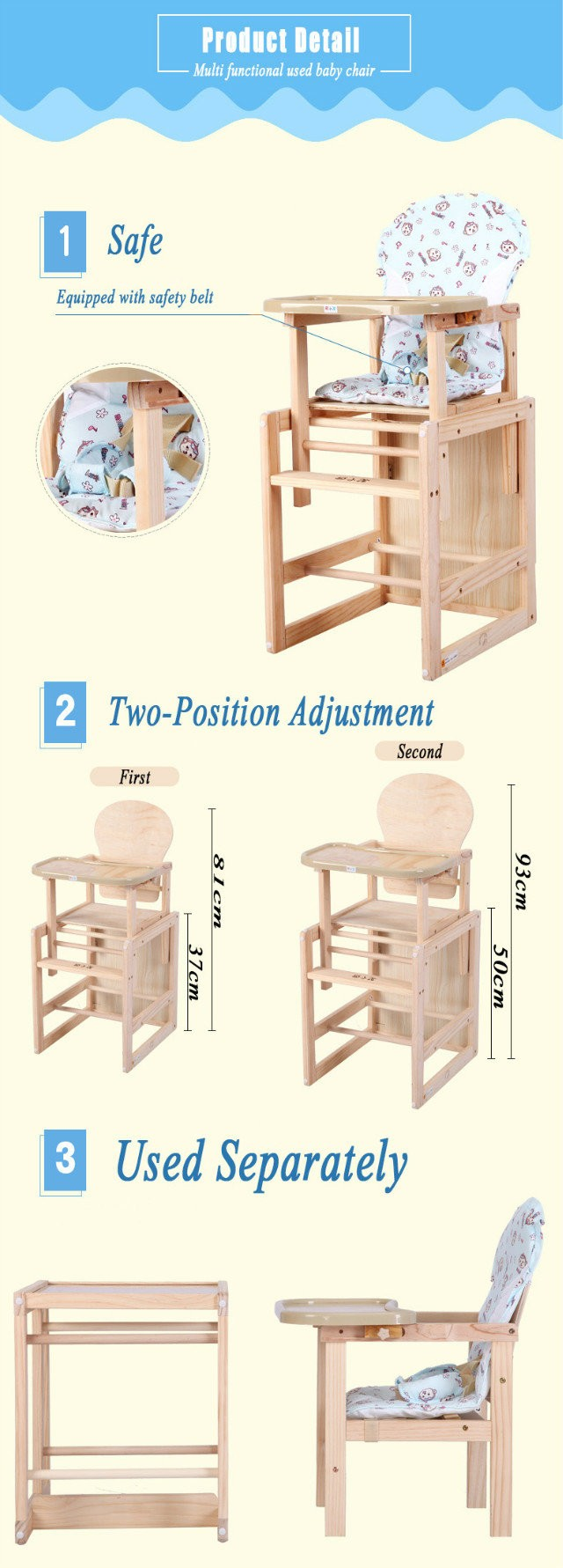 Fabulous Brand Hope Baby Dining Chair Type Baby Wooden High Chair Buy Baby Chair Baby Dining Chair Hope Baby Chair Product On Alibaba Com Andrewgaddart Wooden Chair Designs For Living Room Andrewgaddartcom