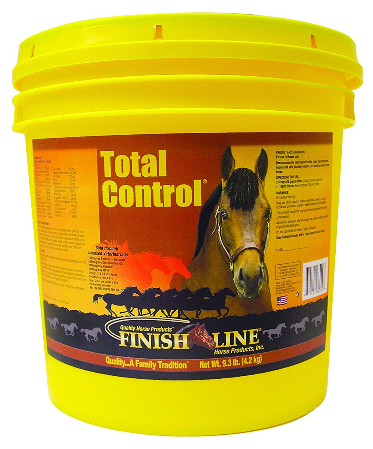 Finish Line Horse Products Total Control