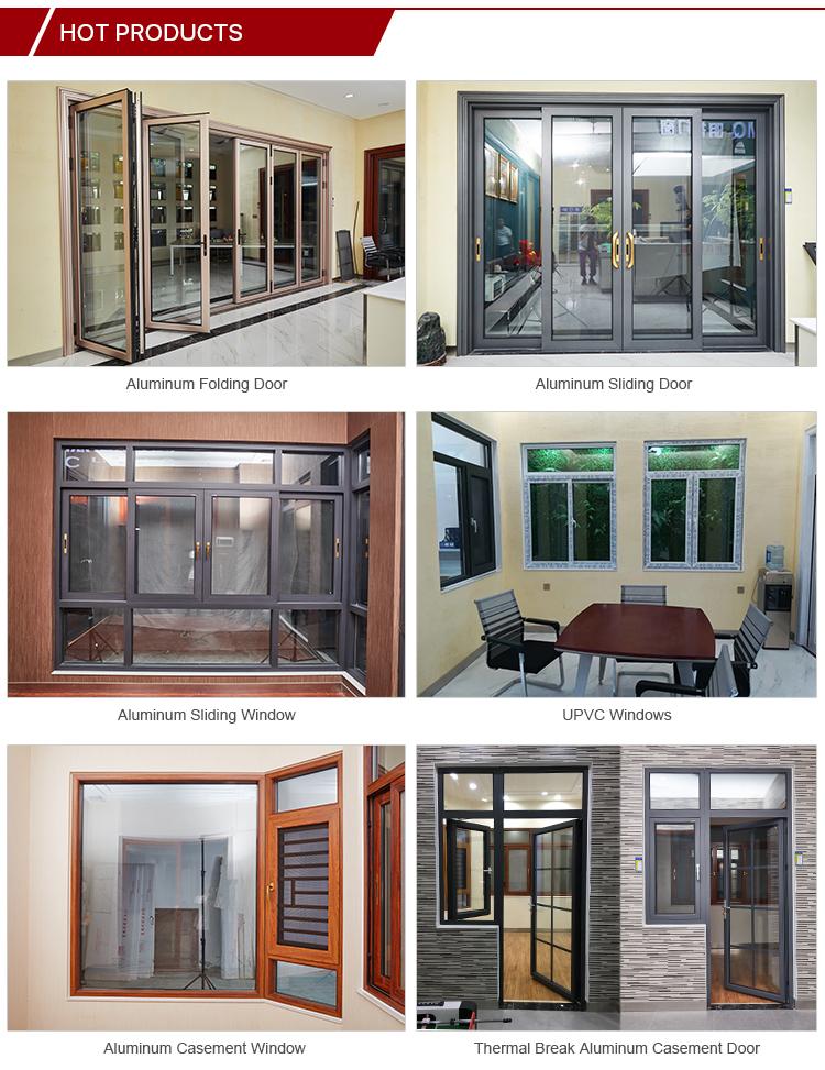 New design factory awning window / Fixed window / aluminium casement windows aluminium window In Guangzhou