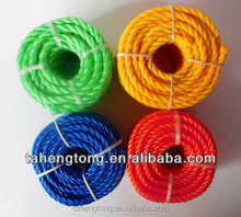8mm PE red rope