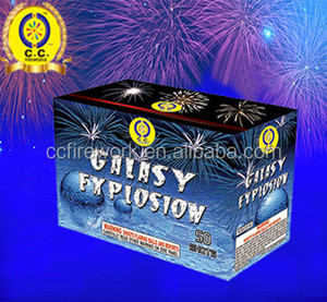 happy birthday cake fireworks for sale/50 shot cakes fireworks