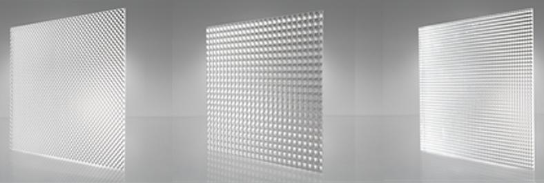 Hot sale polystyrene prismatic LGP acrylic PMMA clear led panel lights diffuser sheet