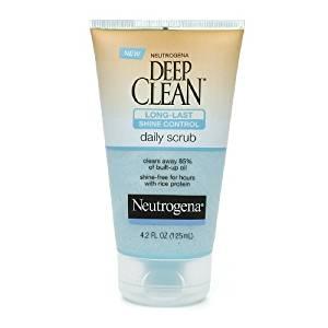 Neutrogena Deep Clean Daily Long-Last Shine Control Scrub 4.2 fl oz (125 ml)