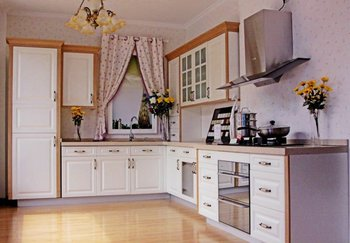 Simple cheap kitchen cabinet with particle board carcasses for Cheap kitchen carcass
