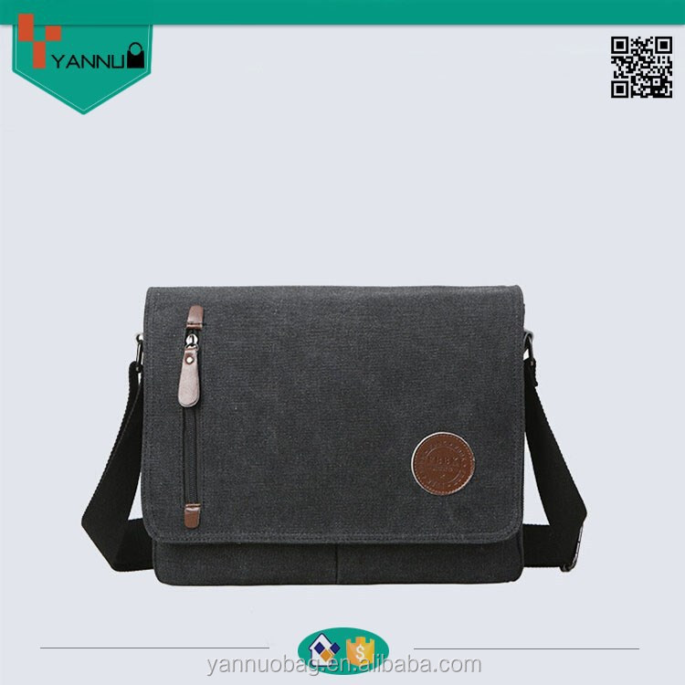 2015 popular portable handsome strong canvas shoulder bag old school vintage messenger bag for men top design