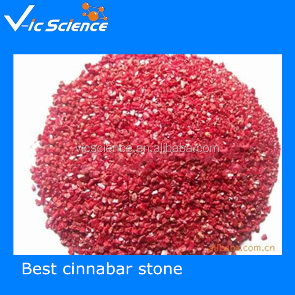 Geography teaching stone natural cinnabar natural mineral and rocks specimen cinnabar stone