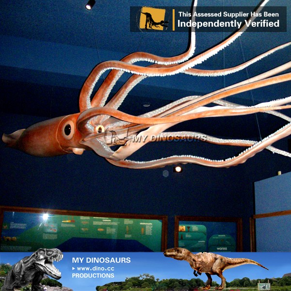 My Dino-C068 Resin zoo decoration octopus model for sale
