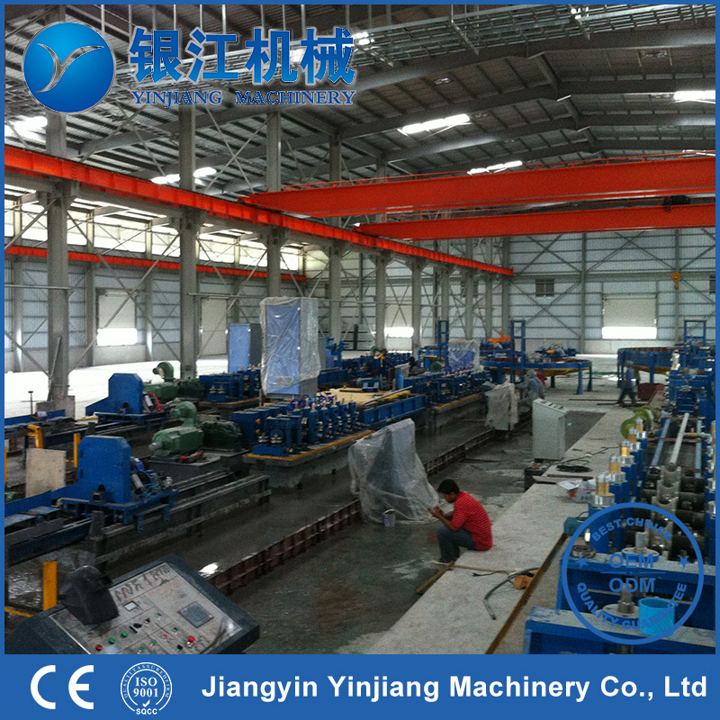 Factory Price Steady Galvanized Steel Round Pipe Roll Forming Machine