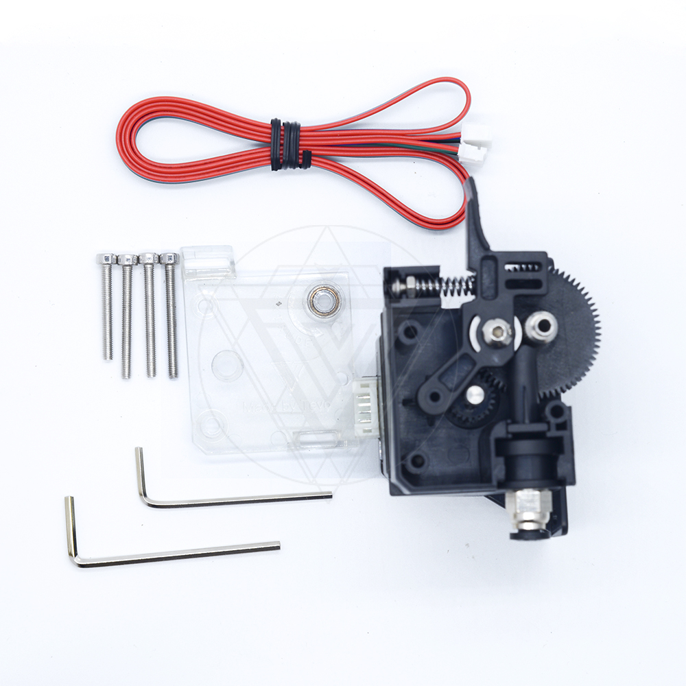2017 TEVO 3D Printer Parts New Titan Extruder with Nema 17 Stepper Motor support Direct and Bowden Extruder