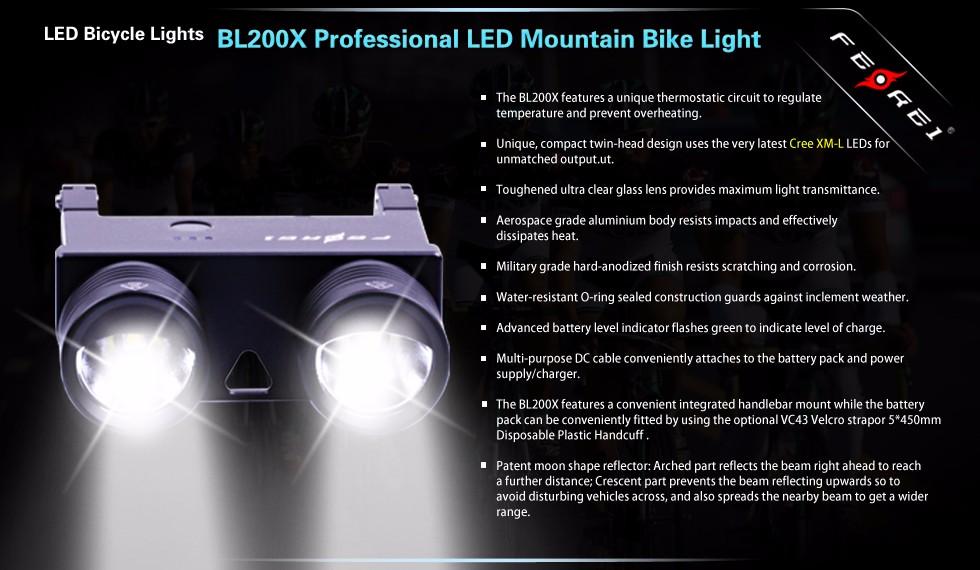 Bl200x De Lampe Descente Équitation Led Lumière Guidon Poignée Buy Nuit Barre Intensité Avant Haute Vélo 9IED2WH