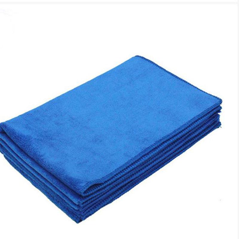 Новый сгущает 40 * 60 см синий абсорбент ткань мытья авто уход из микрофибры очистка полотенца ткани мойки инструменты бесплатная доставка
