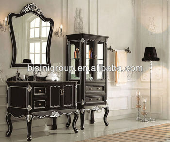french style bathroom cabinets style black color bathroom vanities solid wood bath 15647