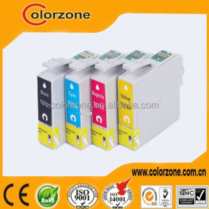 Factory price compatible T0761-T0764 refill ink cartridge for epson stylus cx2800