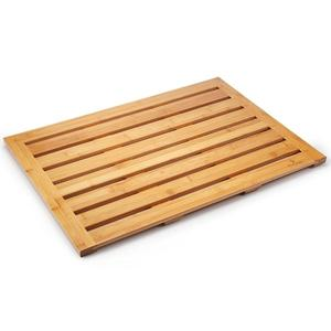 Natural Bamboo Bath Mat Wood Bathroom Accessories