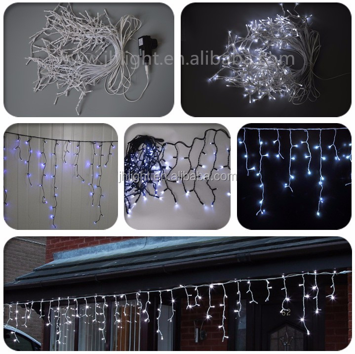 How To Straighten Icicle Lights Led Outdoor Christmas Lights White ...