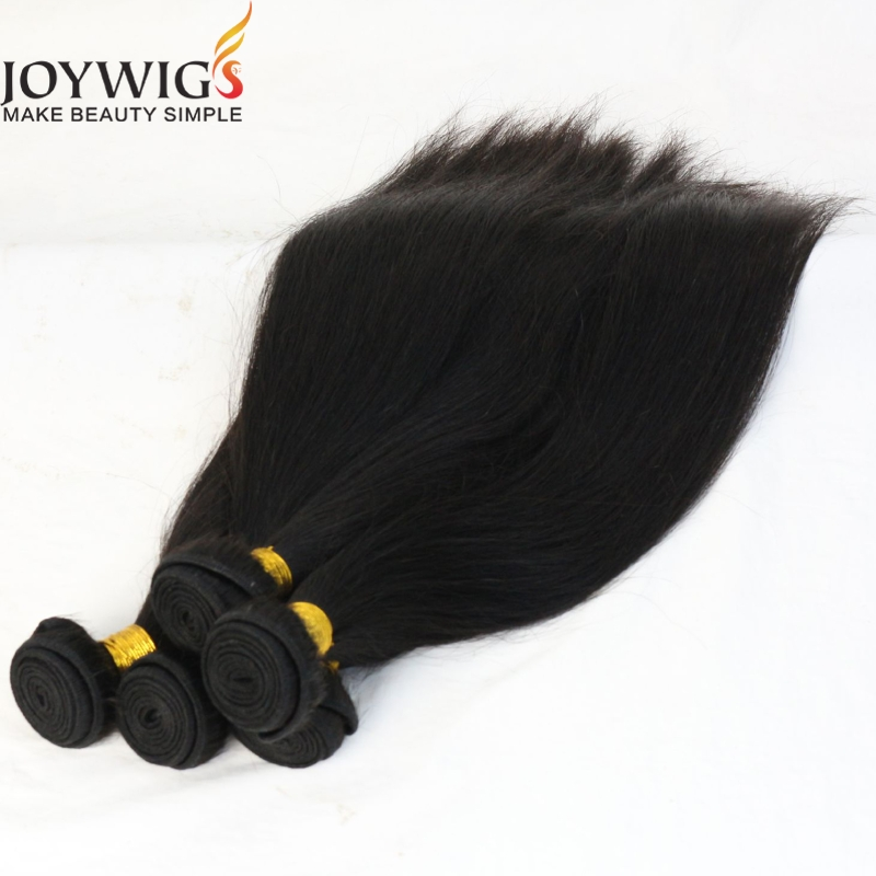 Factory Wholesale 20 inch Cheap Hair Weft Natural Wave India Virgin Hair Bundles Made in China
