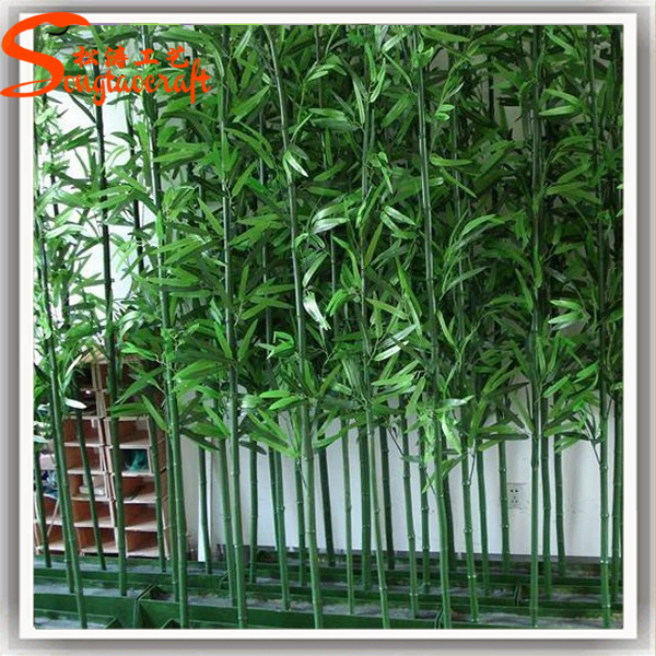 Factory Wholesale Cheap Plastic Bamboo Fence Poles Cane