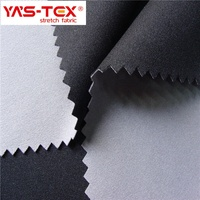 4 way stretch lycra fabric with TPU membrane bonded polyester knitting fabric for sportswear