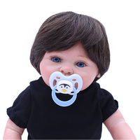 OtardDolls wholesale cute 16 inch soft silicone bebe reborn lifelike full vinyl body dolls children gift toy for sale
