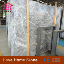 Chinese Silver Net Grey Marble For Hall Wall