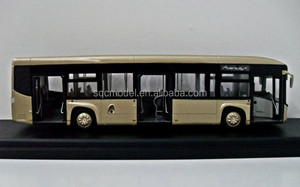1:43 scale oem big collection bus model, scale model toy bus, school bus model