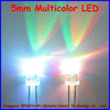 China Factory 2015 Hot Selling 5mm round super bright multicolor led ( CE & RoHS Compliant )