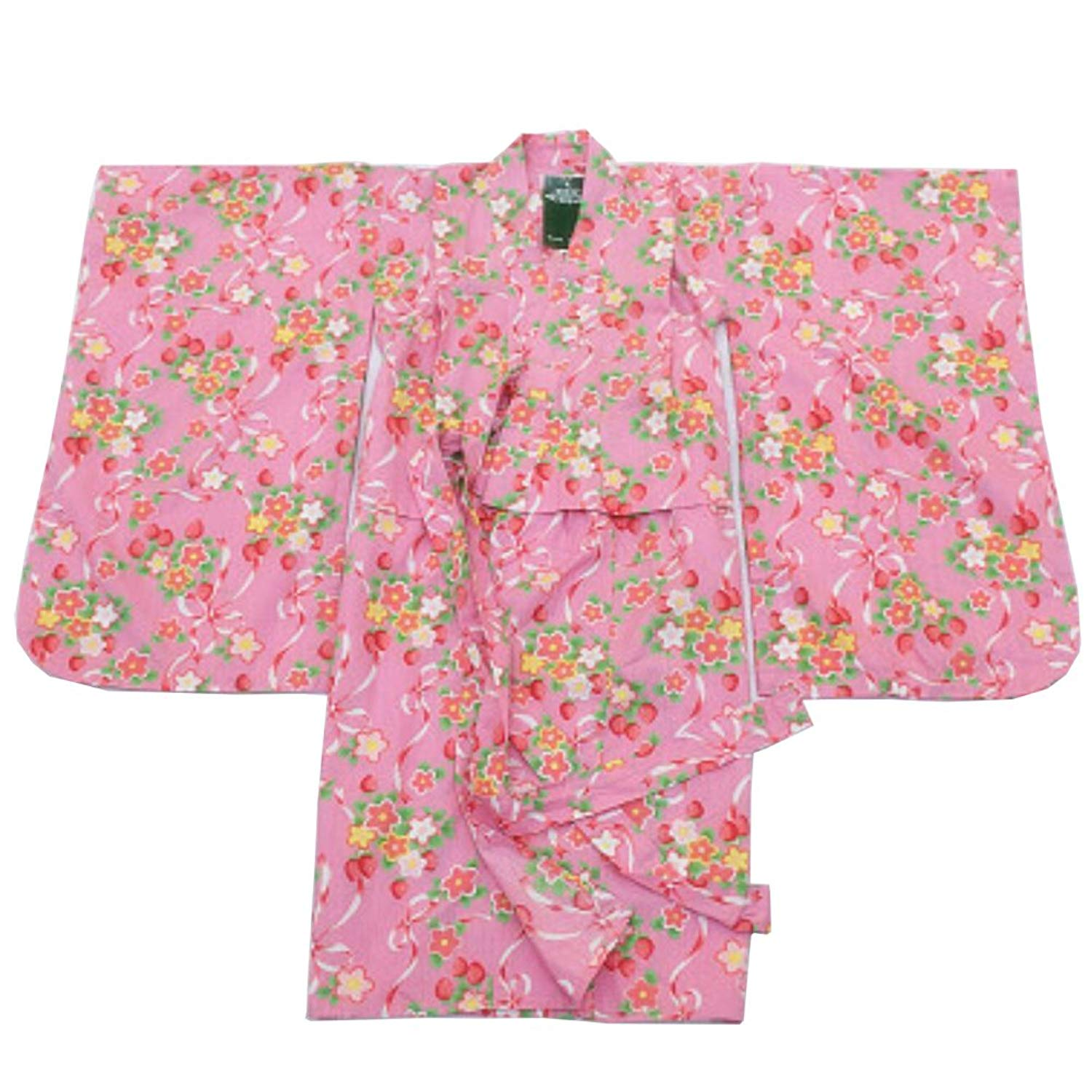 066f988011 Get Quotations · FANCY PUMPKIN Girl s Japanese Style Robes Cotton Kimono  Pajamas Dressing Gown - F