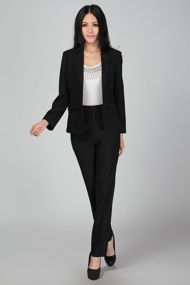 Simple An Interview Suit Should Be Either Black Or Navy In A Professional Setting