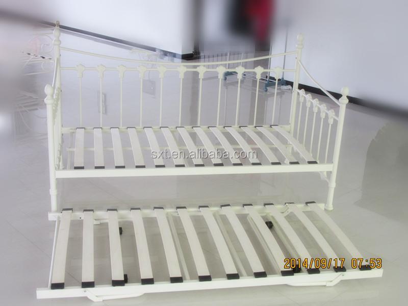 Vendita calda moderno letto di metallo telaio in ferro for Divano letto in ferro battuto ikea