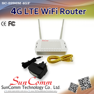 SC-2296M-4GF portable lte router 4g band with fast data rates supports PPPoE, Dynamic IP, Static IP Cable Internet Access