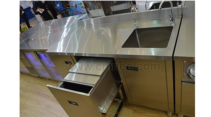 Stainless Steel Commercial Bar