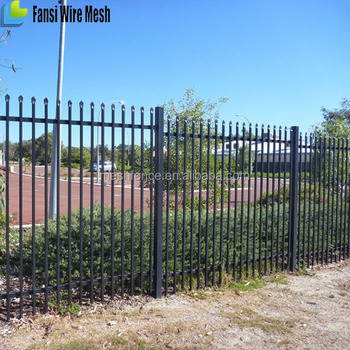 solid wrought iron metal privacy fence panels pvc and gate ornament desgins cost
