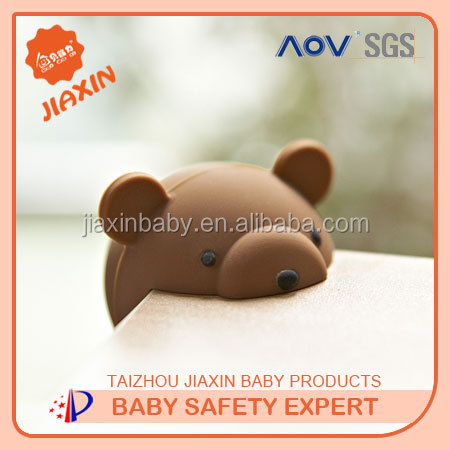 Factory amazing price animal Silica corner protector desk corner protective cushions baby safety decorative table corner guards