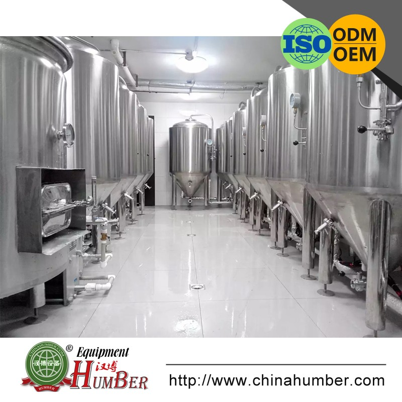 Draft Beer Brewing System Brewery Equipment for Pub/Bar/Restaurant