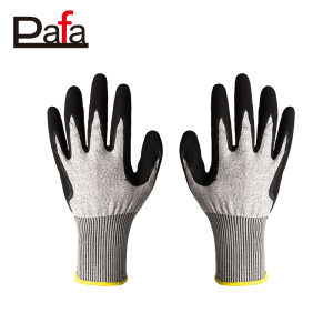 15G HPPE safety cut resistant hand protection gloves