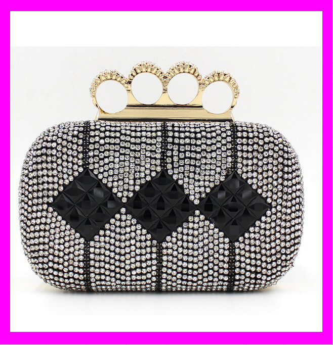 KD2605 new arrival ladies clutch cheap crystal clutch evening bag wholesales